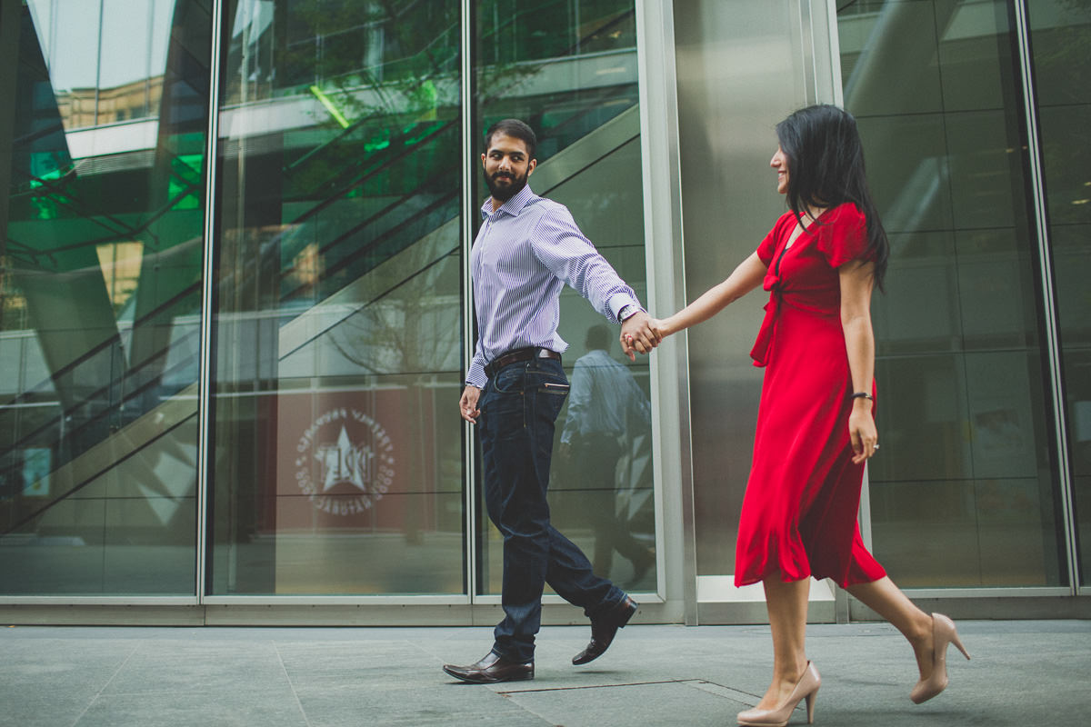 natural london engagement photos of an insian south asian couple