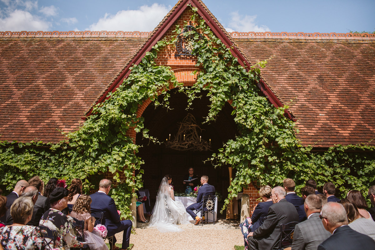 The Dairy at Waddesdon Manor Wedding Photography