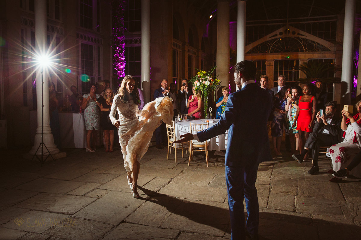 First Dance at Syon Park Wedding