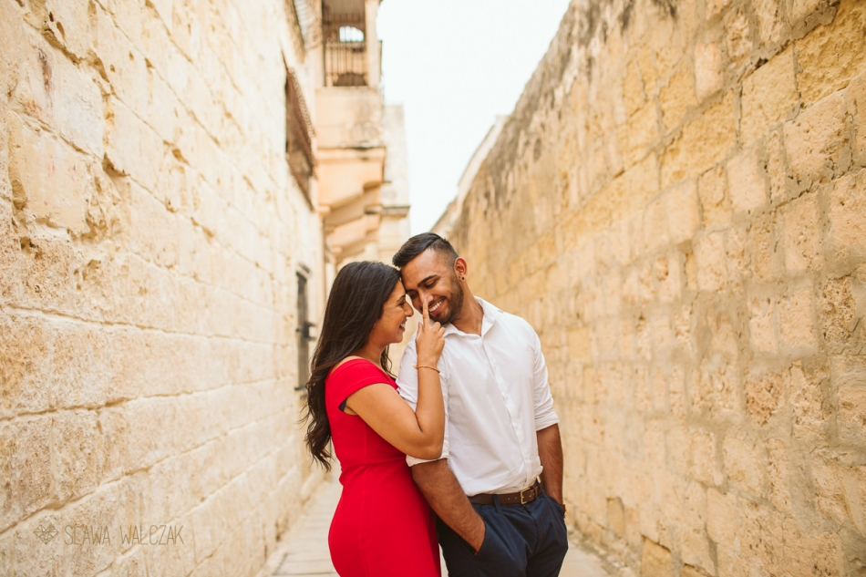 Mdina Malta Destination Engagement Photography
