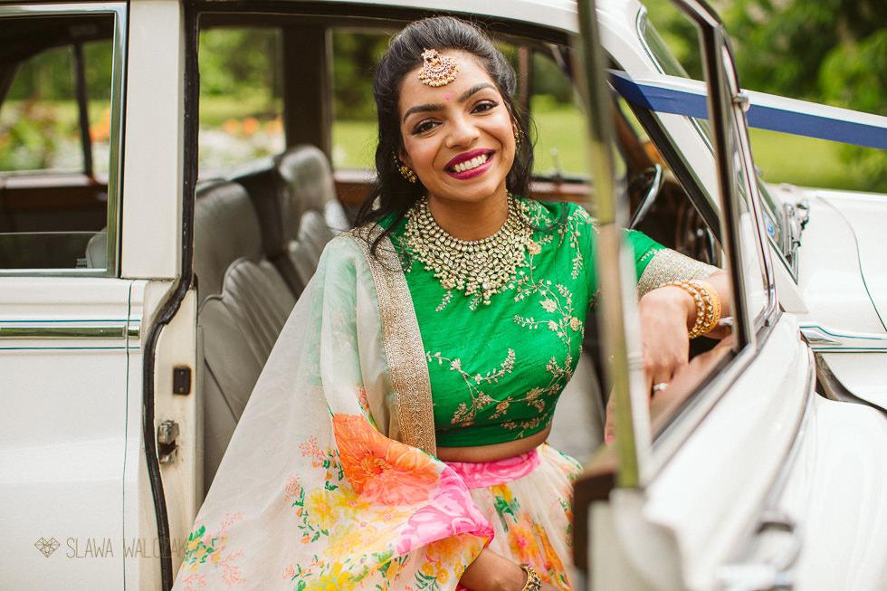 Tamil Bride at an Asian wedding in Kew Gardens