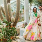 Natural asian wedding photo shoot at Princess of Wales Conservatory