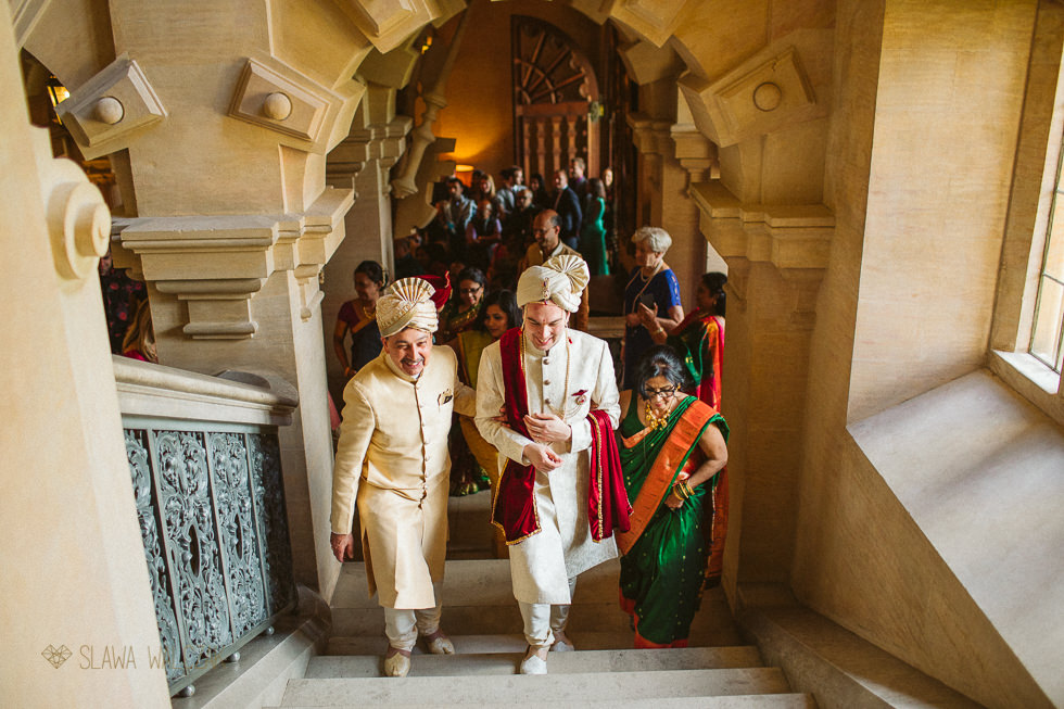 Indian Hindu ceremony at Harlaxton Manor