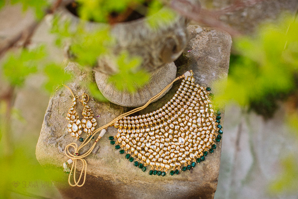 Asian bridal jewellery photo