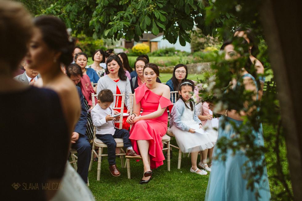 Wedding photos from an outdoor wedding at Hyde BArn