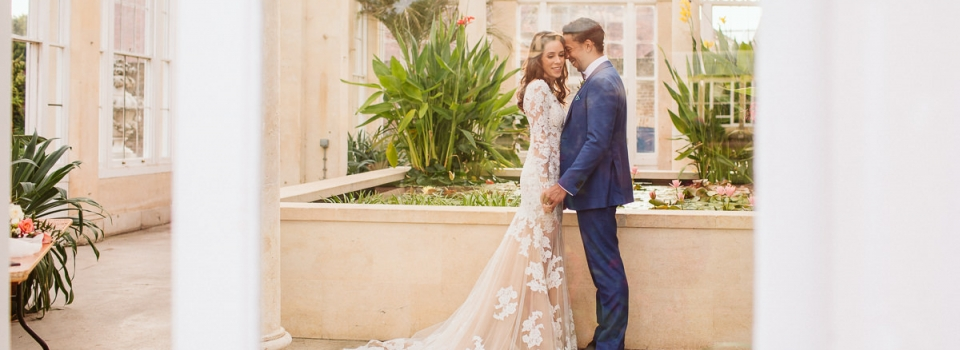 Great Conservatory Syon Park Wedding Photography