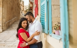 Mdina and Valletta , Malta Destination Engagement Photography