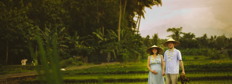 Destination Engagement Photography – Paddy Field, Ubud, Bali