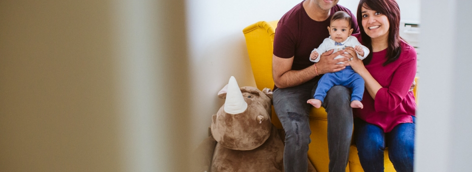 Rena+Ram+Kian – London Newborn & Family Photography