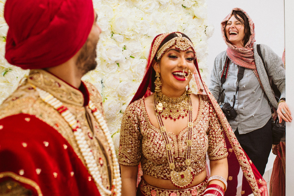 Slawa Walczak Female Asian Wedding photographer