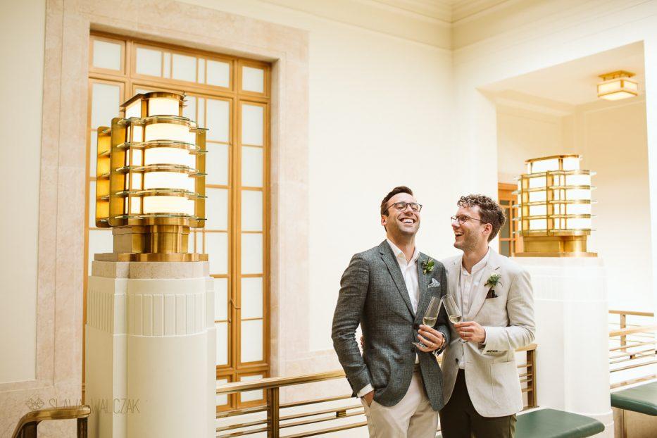 gay wedding photography at Hackney Town Hall London