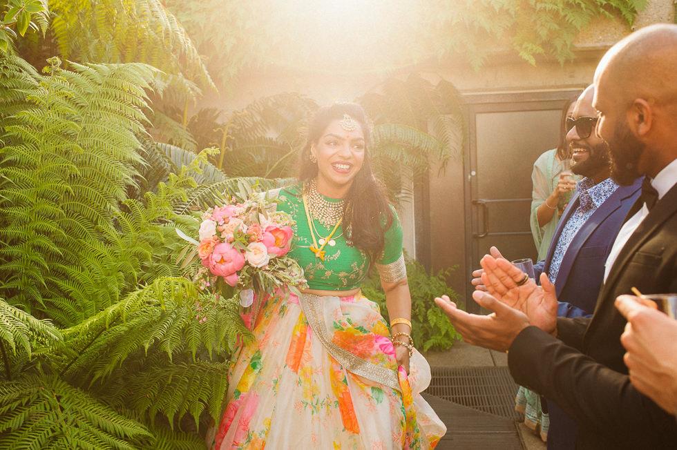 Asian Wedding Photography Kew Gardens London