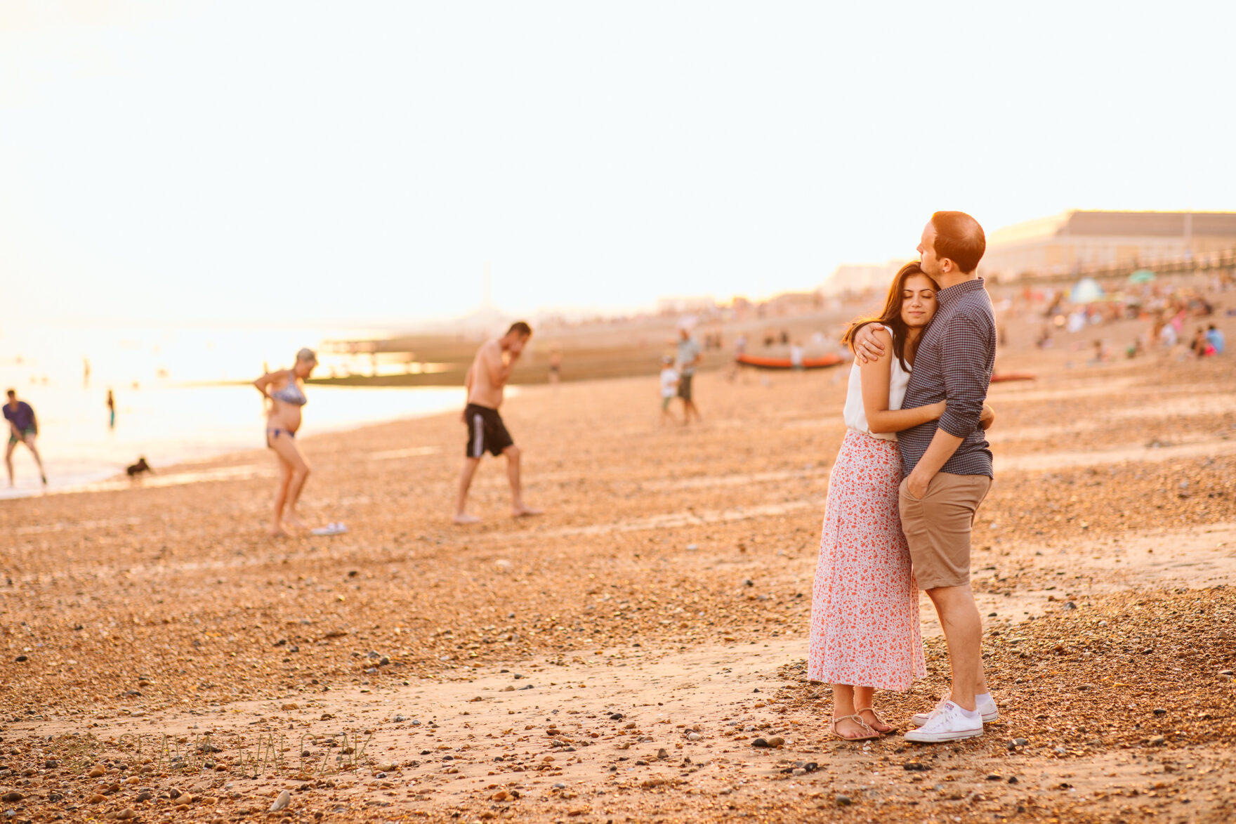 natural and creative Brighton Engagment Photographer