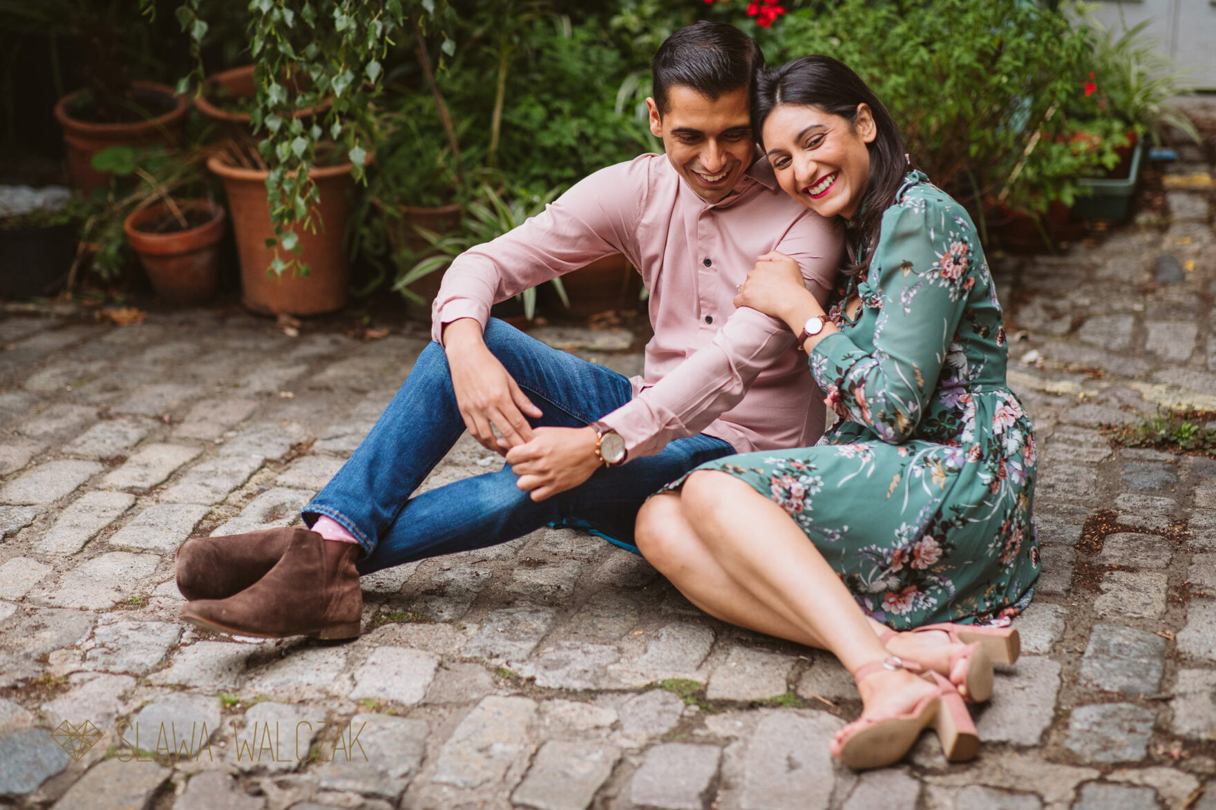 Asian Engagement Photography London