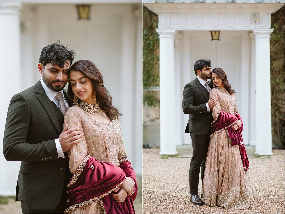 Muslim Wedding Photography couple portraits