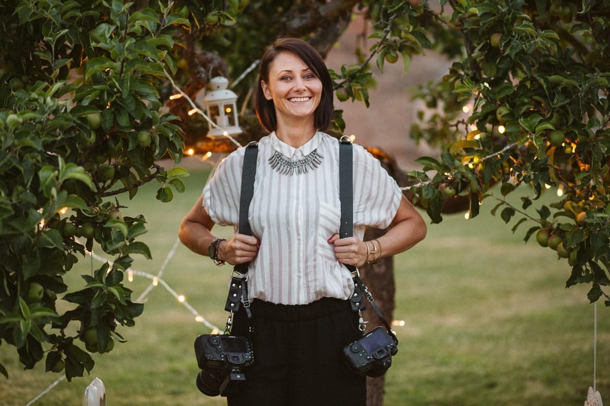 Portrait of Slawa Walczak Female Asian Wedding Photographer London UK